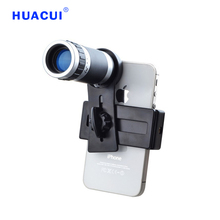 Universal 8X Mobile Phone Lens Smartphone Camera Telephoto Lenses Cell Phone Camera Telescope Lens  for iPhone 6 Samsung Galaxy