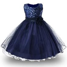 Платья для девочек с цветочным принтом, вечерние платья на свадьбу, платье подружки невесты, платье принцессы, подростковая одежда для дево...(Китай)