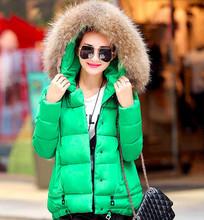 Prešívaná dámska zimná bunda s kapucňou
