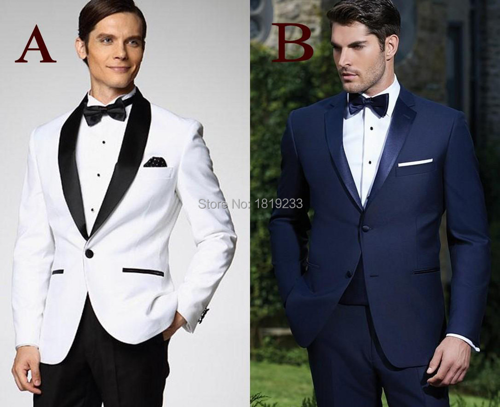 2019 Wholesale Custom Made New Arrival Groom Tuxedos 10 Styles Men'S Suit  Classic Groomsman/Best Man Wedding/Prom Suits Jacket+Pants+Bowtie From