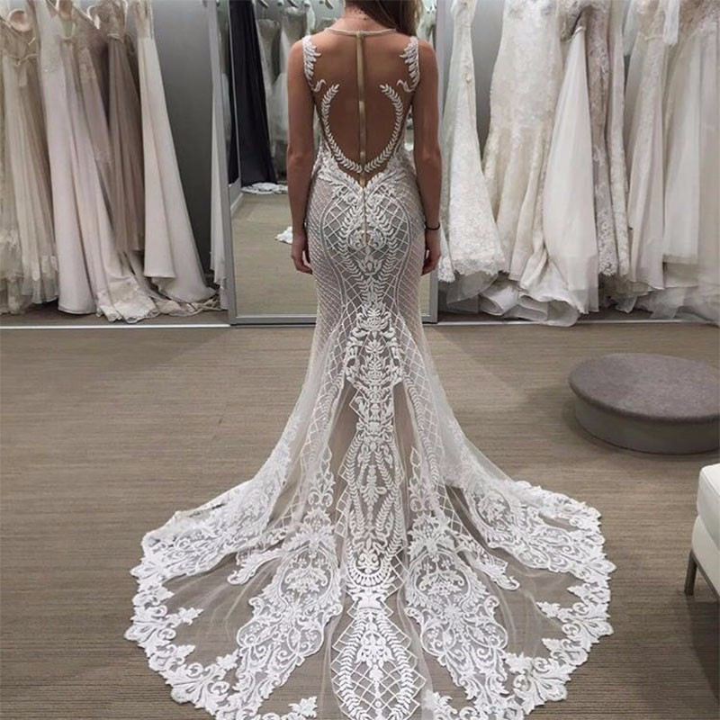 Trumpet Wedding Dresses: Aliexpress.com : Buy New Arrival Sexy Lace Mermaid