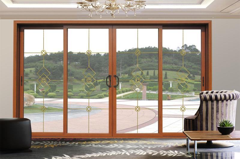 Best Perfect Awesome Best Interesting Amazing Puertas Aluminio Cristal  Exterior Ue Aluminio Doble Patio Exterior De Vidrio Puerta With Puertas  Correderas De ...