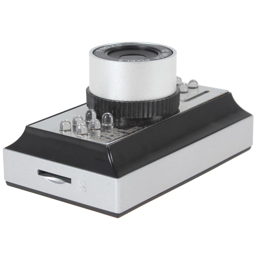 1.5 дюймов TFT LCD HD 720 P портативный мини-поддержка автомобильный видеорегистратор 8 4-кратным цифровым зумом + ик ночного видения функция