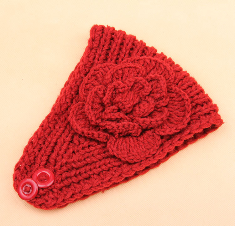 Crochet Free Pattern Promotion Shop For Promotional: Crochet Flower Headband Pattern Promotion-Shop For