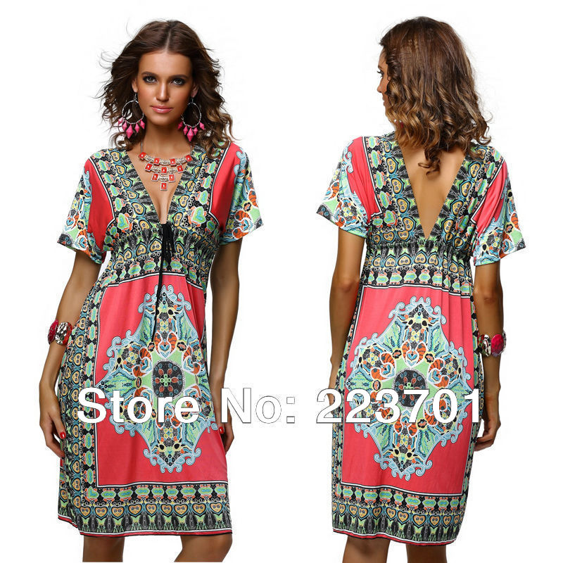 Plus Size Dresses Hippie Style And Fashion