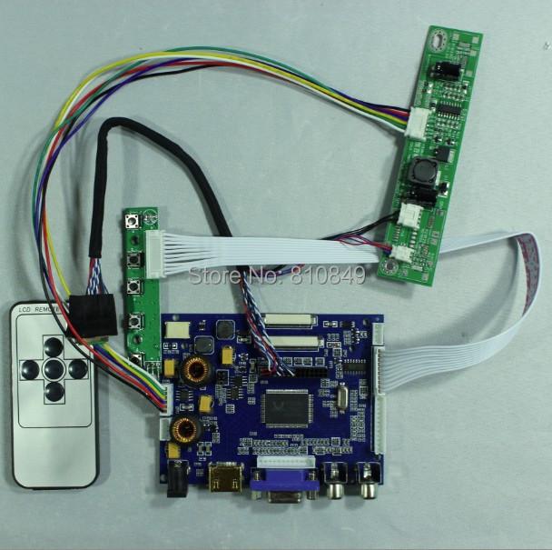 Remote Control Industrial Computer & Accessories Hdmi+vga+2av+audio Controller Driver Board Vs-ty2668-v1 For 7inch 1024x600 At070tna2 Lcd Panel