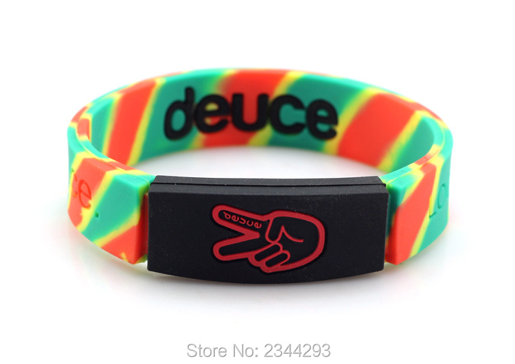 Thick Silicone Wristbands 107