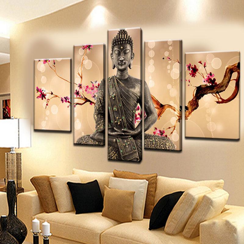 peintures murales peint la main promotion achetez des peintures murales peint la main. Black Bedroom Furniture Sets. Home Design Ideas