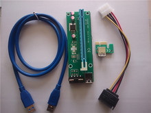 PCI-e 1x to 16x slot adapter riser card compatible with PCI express 4x 8x 16x for serial sound card serial parallel sound card