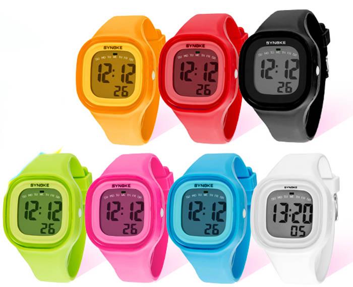 c1c2a2f304a9 Compre Selljimshop Silicona LED Luz Digital Reloj De Pulsera Deporte ...