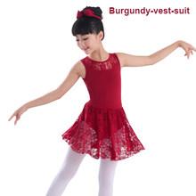 c6c85e5280f Пикантный черный костюм для балета без рукавов с длинными рукавами и  кружевами