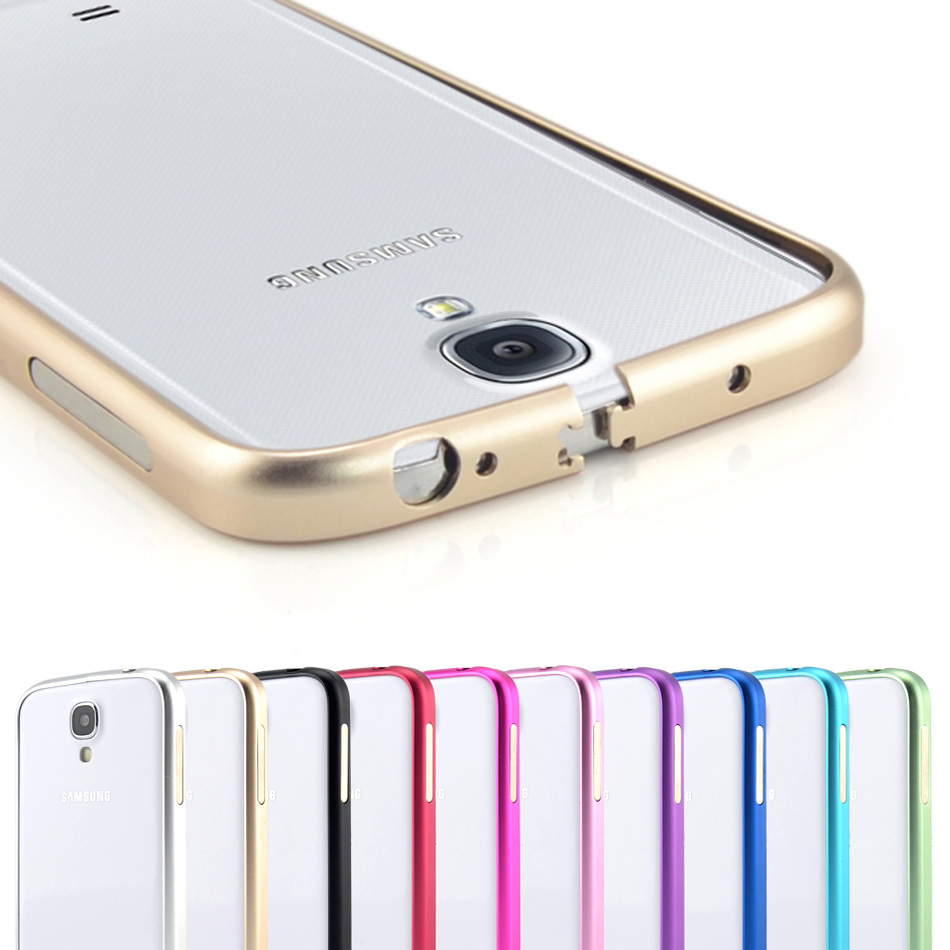 official photos 66a0b 14f72 Ultrathin Aviation No Screws Frame S4 Phone Cover Ultra Thin Metal Luxury  Aluminum Bumper Case For Samsung Galaxy S4 i9500