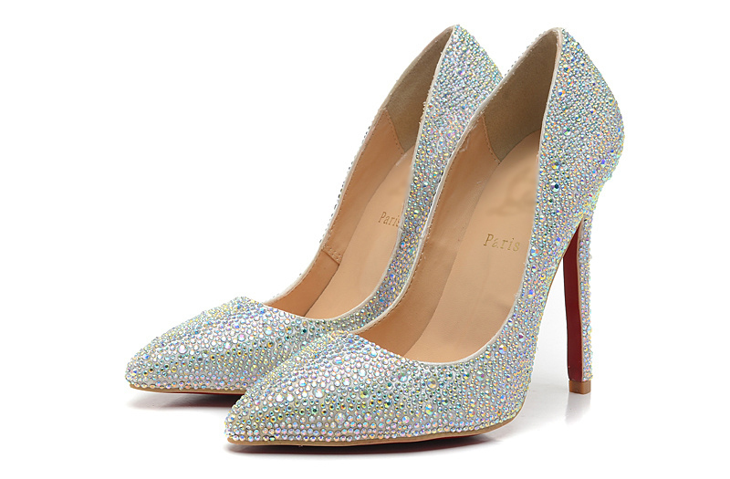 Red Bottom Diamond Shoes