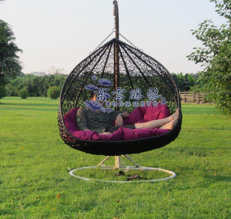 innen und outdoor schaukelstuhl vogelnest blumenampel. Black Bedroom Furniture Sets. Home Design Ideas