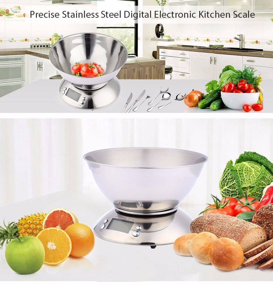 Grosshandel Kochwerkzeug Edelstahl Elektronische Waage Food Balance