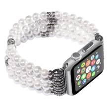 Ремешок для apple watch 38 мм 42 мм 40 мм 44 мм серия 4 1 2 3 Роскошный дизайн с агатом ремешок для iwatch для женщин и мужчин серия 5(Китай)