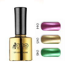 6pcs Color 1000 Nail Salon Popular Metallic gel polish 10ml 48 colors for choice feifan