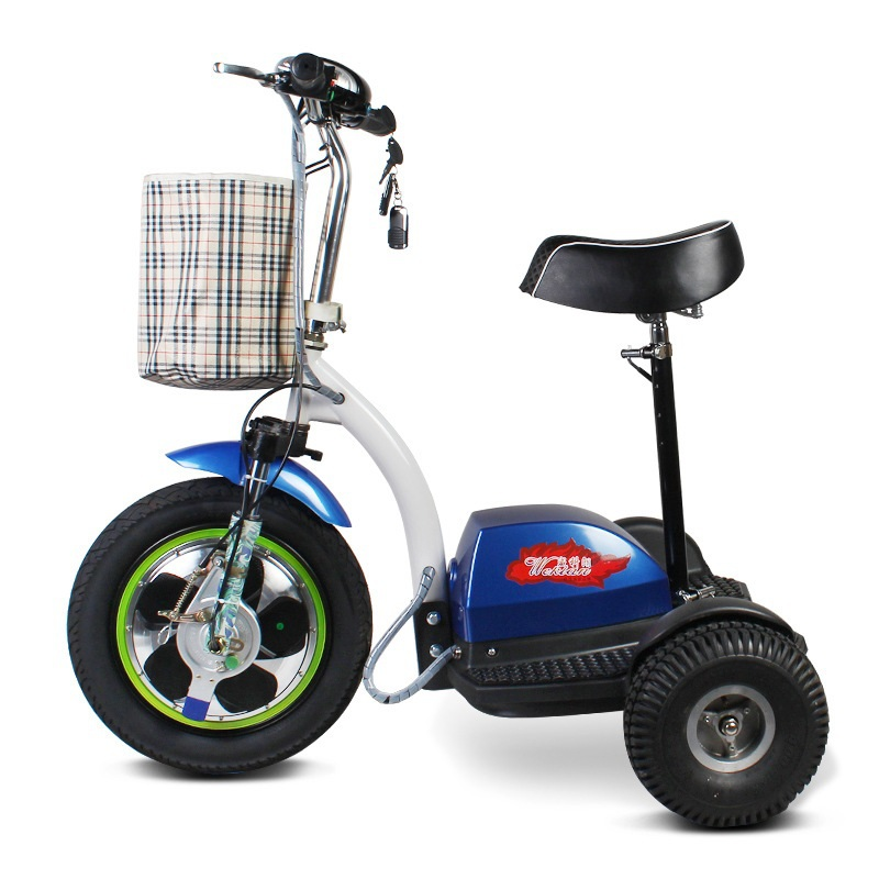 zappy 3 rad elektro roller hl 07 elektrischer scooter. Black Bedroom Furniture Sets. Home Design Ideas