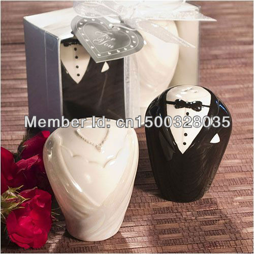Inexpensive Wedding Gifts For Bride And Groom: Wholesale Wedding Guest Gift Bride And Groom Salt And