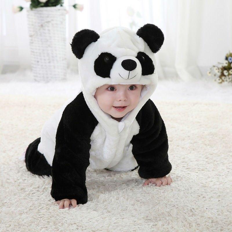 Fantasia Bebe Parmalat Ursinho Panda Importados Semgastar