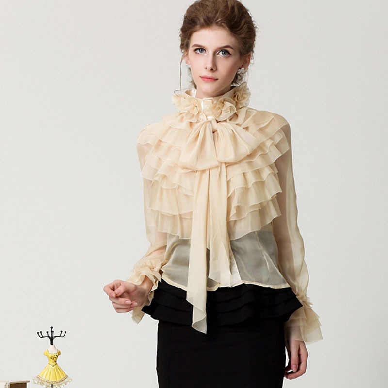 Find ruffled blouse women at ShopStyle. Shop the latest collection of ruffled blouse women from the most popular stores - all in one place.