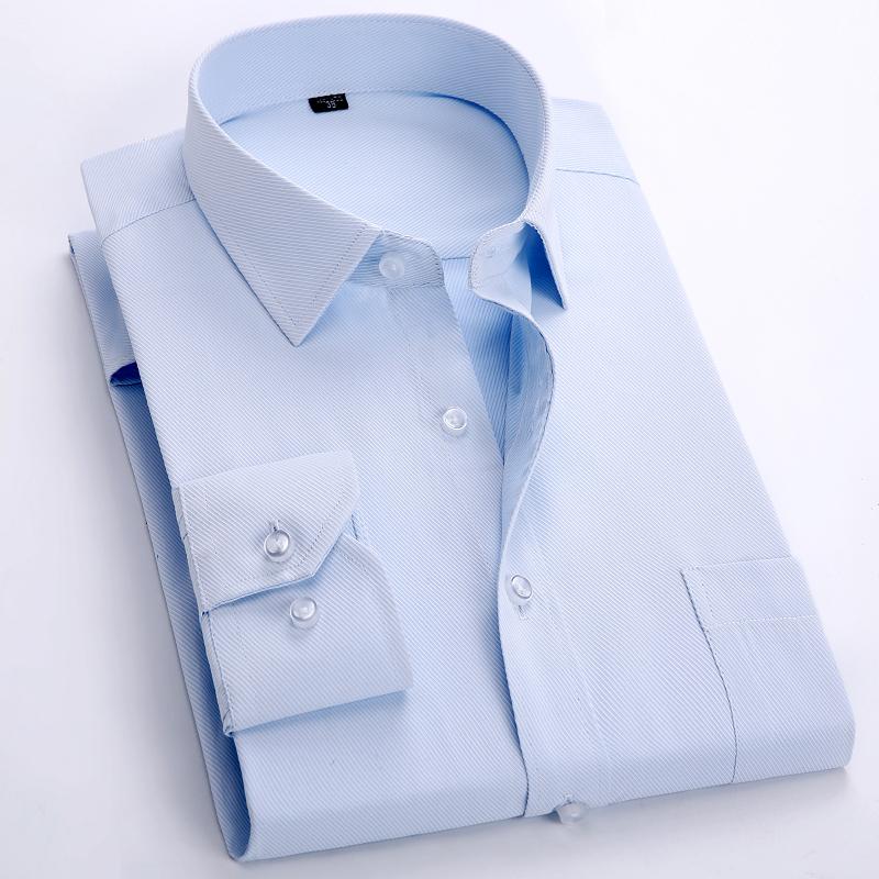Бренд great официальный платья мужчины бизнес офис рабочий длинный рукав nice 5xl 6xl рубашки человек свободного покроя ну вечеринку бар большой полоска рубашка