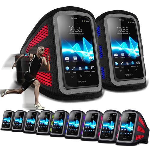 Повязки телефон чехол кроссовки регистрации спортивный ткани упражнение для Sony Xperia LT30p