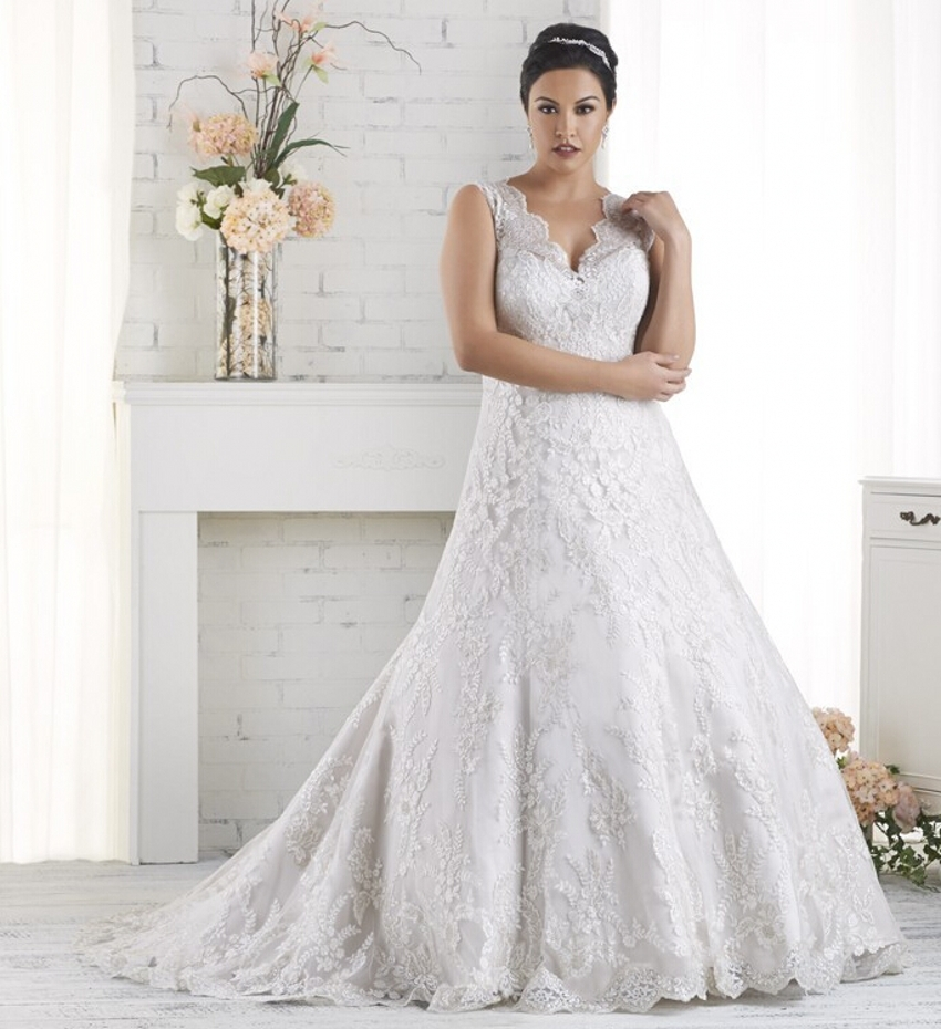 Cheap Plus Size Ball Gown Wedding Dresses: Elegant-Tulle-Romantic-Cheap-Plus-Size-Vintage-Ball-Gown