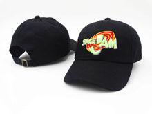 2020 Jordans Movie Space Jam бейсбольная кепка модная изогнутая шапка для папы головные уборы Casquette бренд Snapback хип-хоп Bone для мужчин и женщин(Китай)