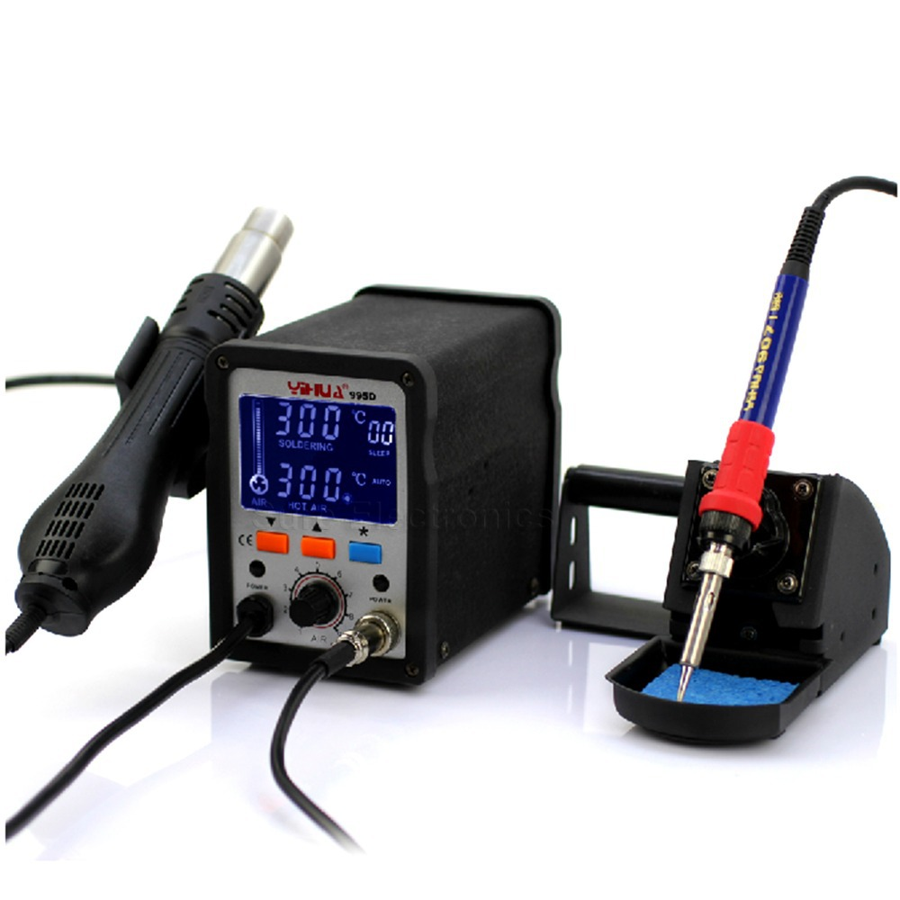 yihua 995d 110v smd rework soldering station de soudage dessoudage a air chaud in electric. Black Bedroom Furniture Sets. Home Design Ideas
