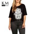 kissmilk בתוספת גודל חדש אופנה נשים שרוול קצר בקיץ צבאי גדול גודל מזדמן צבא חולצה 3XL 4XL 5XL 6XL