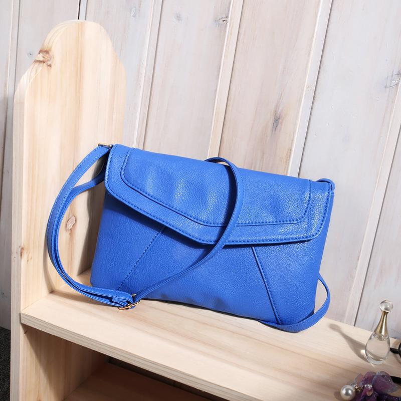 Wholesale Splendid 2016 New Fashion Girl Ladies Messenger Bags Rivet ... 29f4d3869c9d2