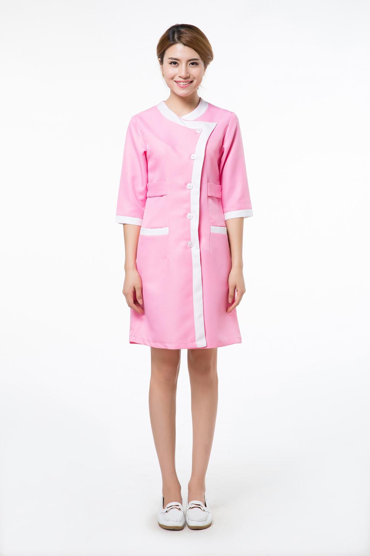 2015 oem lab coat cotton medical nurse clothing spa for Spa uniform fashion