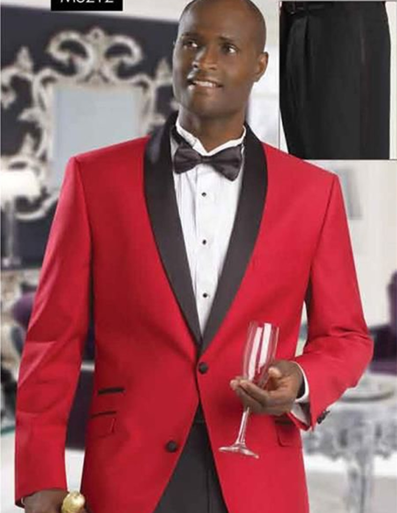 Black And Red Tuxedo For Prom | www.imgkid.com - The Image ...
