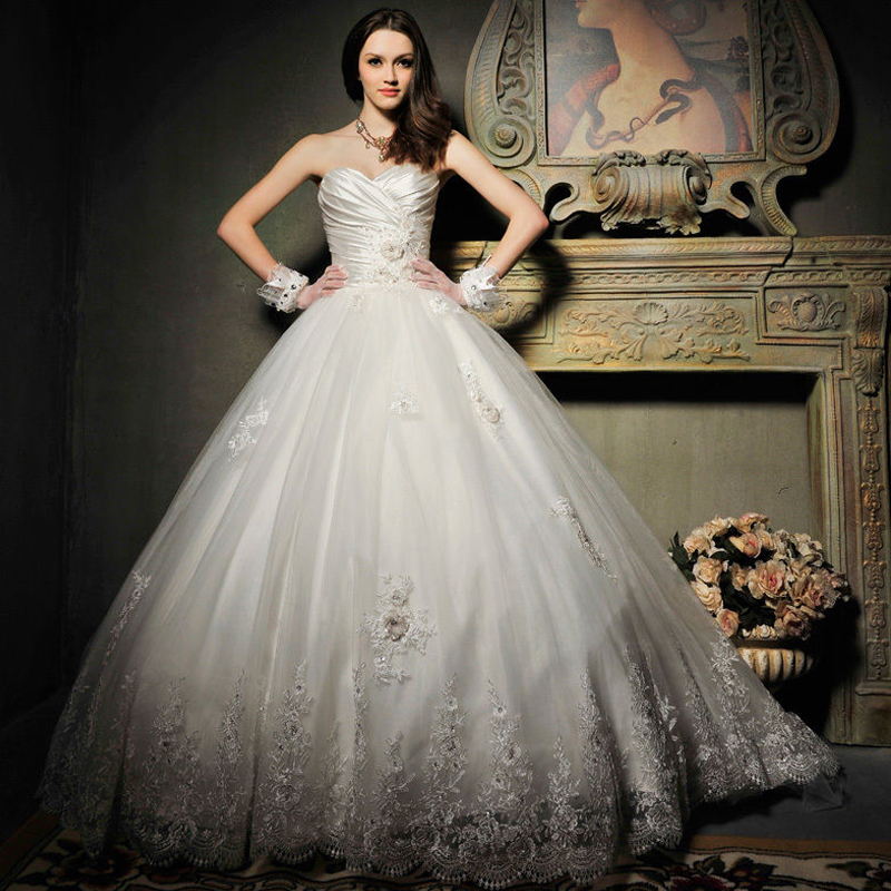 Princess Wedding Dresses: Aliexpress.com : Buy Elegant Ruffle Organza Princess