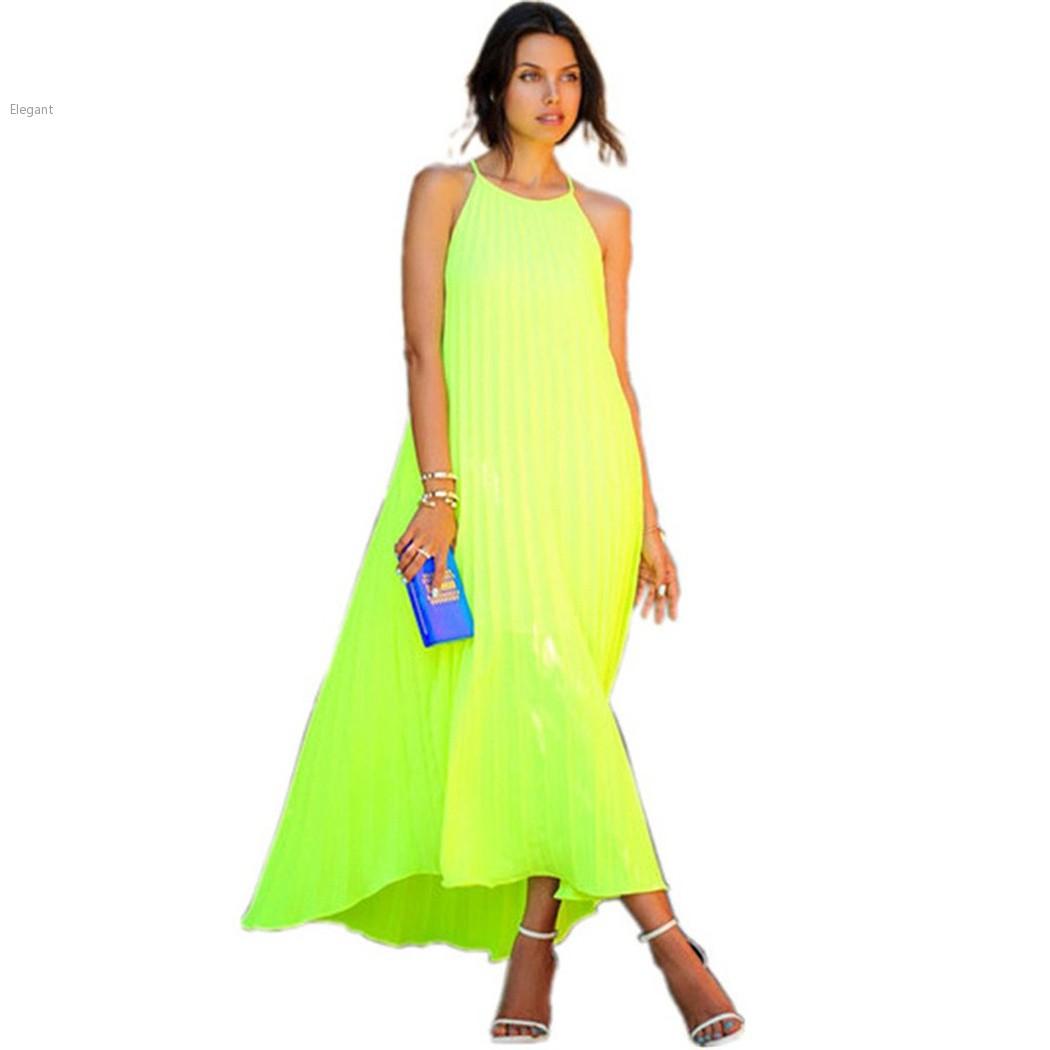 Summer Dress 2015 Sexy Women Casual Long Beach Dress Loose ...