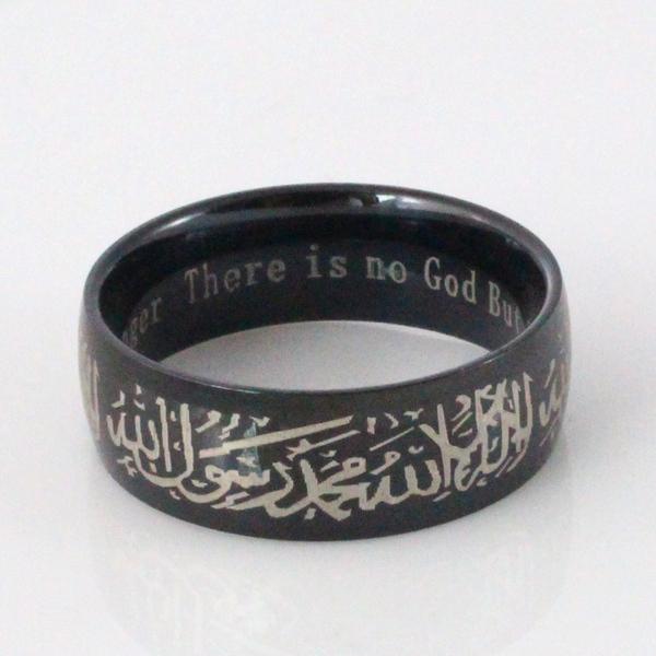 Dzd Muçulmano Allah Aço Inoxidável Shahada Para Mulheres
