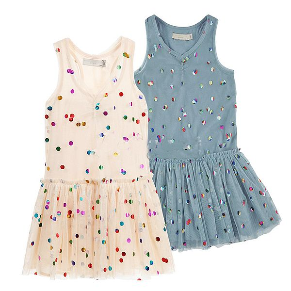Girls Dress Summer Style 2015 Brand Baby Girls Dress Dot Irregular Design Princess Dress Kids Clothes Girl Clothing 2 Colors