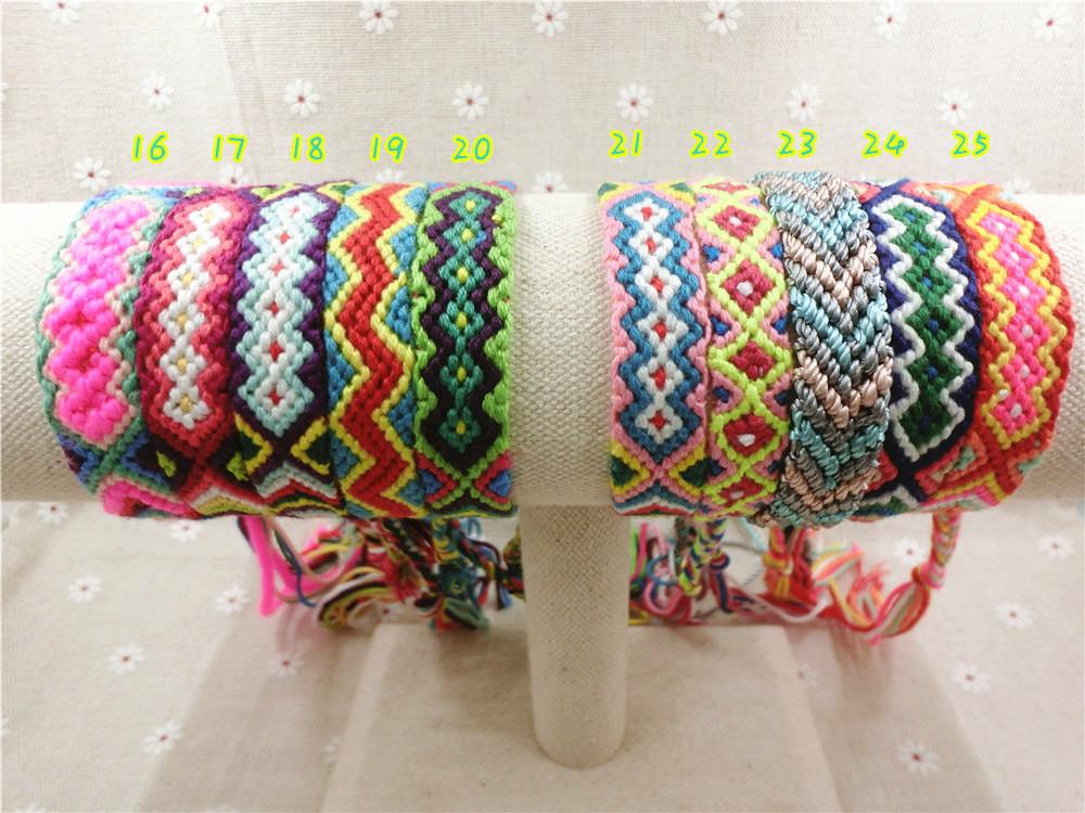 Handmade-Friendship-Wrap-16-30-Cotton-Friendship-Bracelet ...