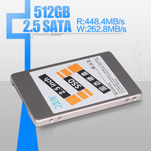 SSD, 2.5'solid state drive, ssd solid state disk,512GB SATA ,Read 45.5MB/S , Write 8.7 MB/s, 3 years warranty