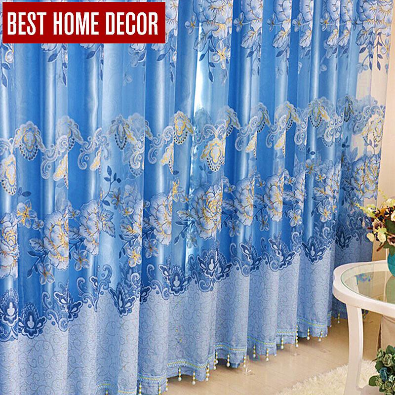 Aliexpress.com : Buy Best Home Decor Floral Drapes Window