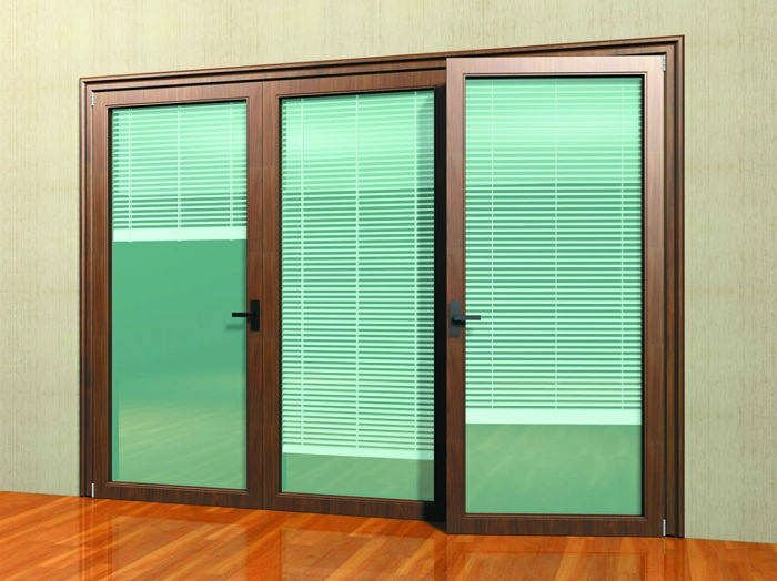 Sliding Glass Door With Blinds Door Mini Blinds Blinds