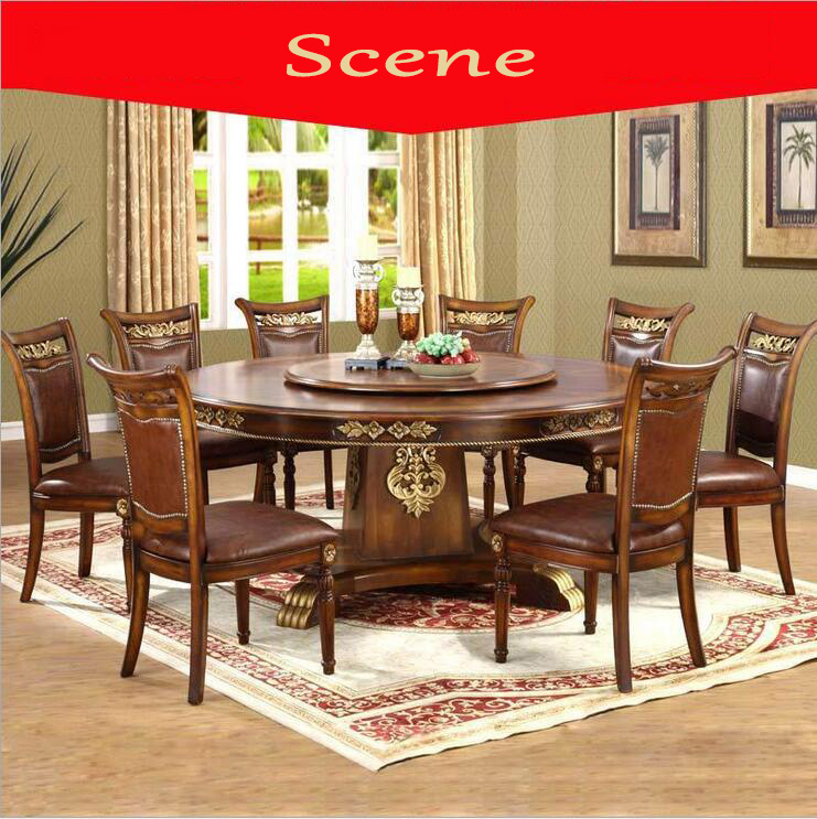 Luxury Dining Room Set: Modern Style Italian Dining Table, 100% Solid Wood Italy