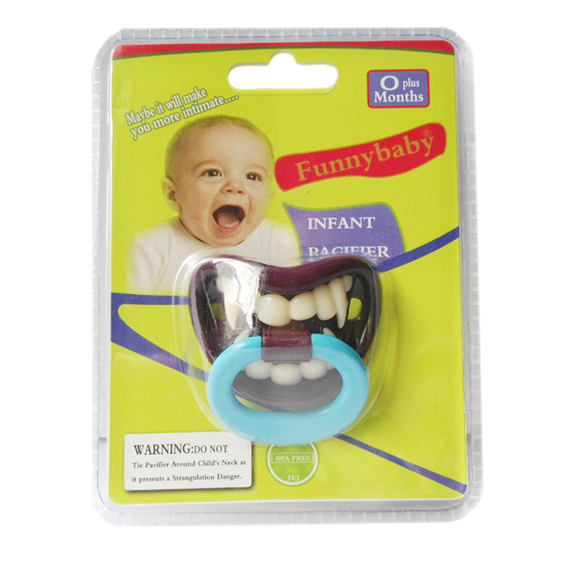 5Pcs Horror Vampire Style Baby Pacifier Silicone Soother Nipple For Newborn Infant Toddler Chupetas Para Bebe
