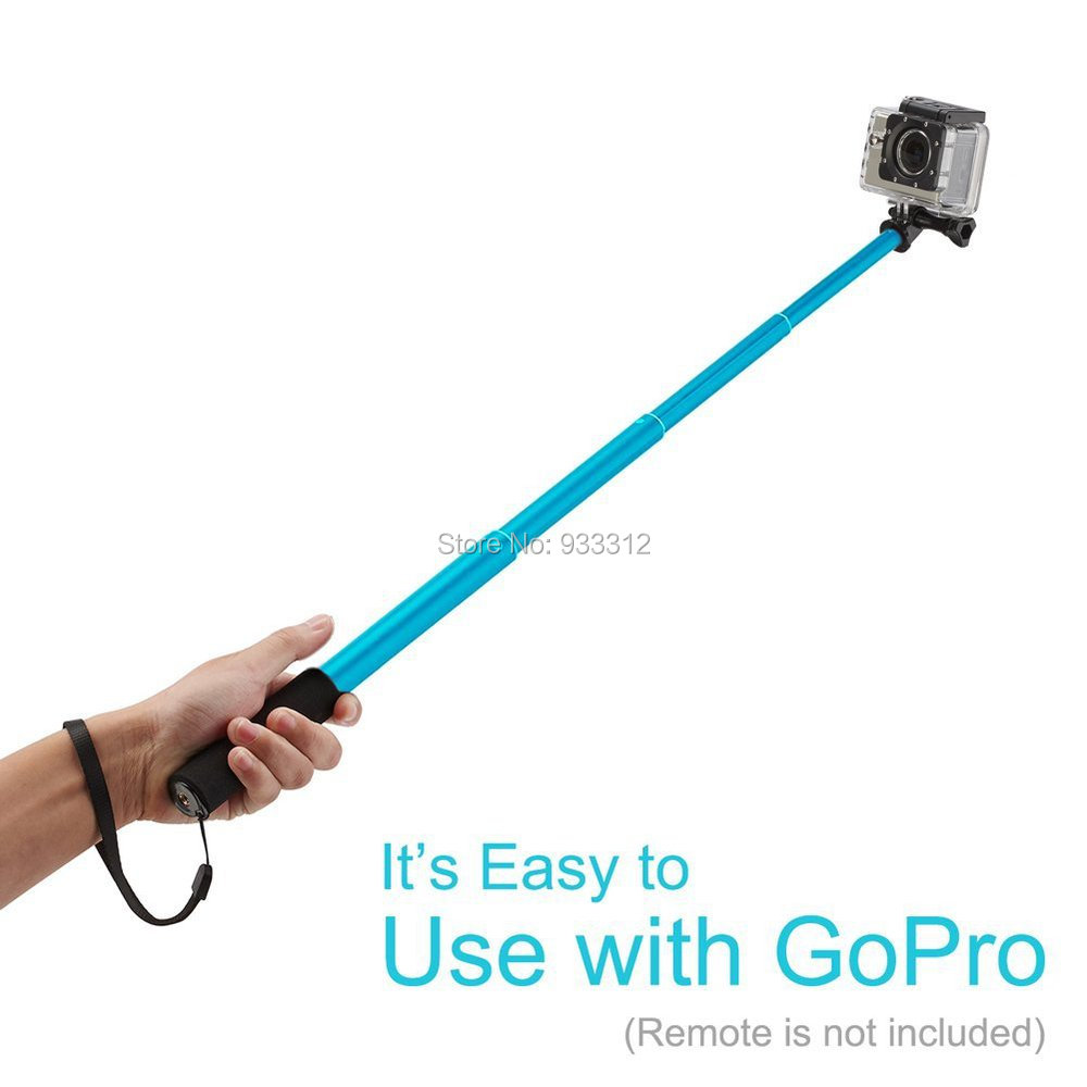 Extendable Self-portrait 39″ Monopod Bluetooth Remote