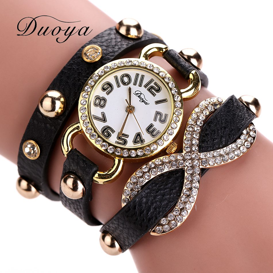 77 Fashion New Arrive Watches Women Luxury Brand Leather Bracelet Wristwatch Women Dress Sport Wristwatches Business