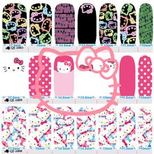 14 Style Hello Kitty Cat Nail Art Sticker Patch 14pcs/set High Quailty Foils Decals Polish Gel Manicure Beauty Makeup Tools