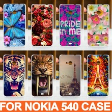 New Hot High Quality PC Painted Cartoon Cute UV PrintCover Case For Microsoft Nokia Lumia 540 Cases Nokia 540 phone cover