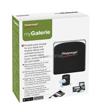 Hauppauge MyGalerie SD reader,extend storage Portable extra storage for your Apple and Android device