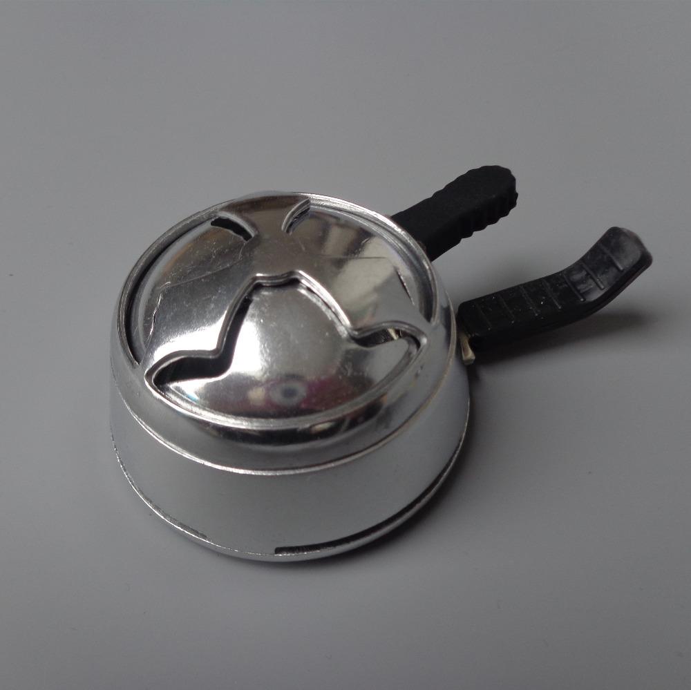 2-handles поляризовыванная - легкий алюминиевый шиша кальян чаша, Уголь держатель, Уголь плита горелки, Тепла хранитель -- бесплатная доставка